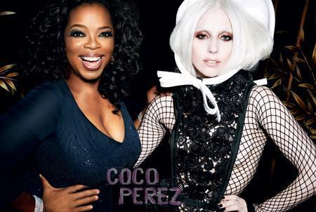 Gaga and Oprah Winfrey
