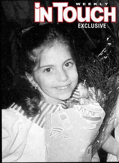 Gaga as a child