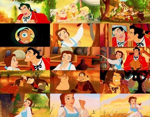 Gaston collage
