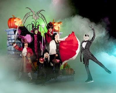 Halloween Villians on Ice