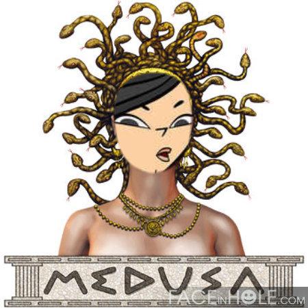 Heather as Mudusa