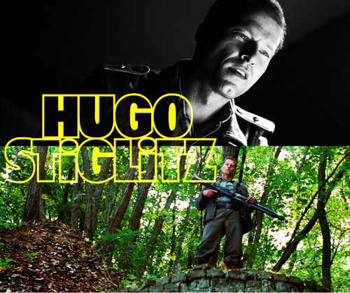 Inglourious Basterds wolpeyper entitled Hugo Stiglitz