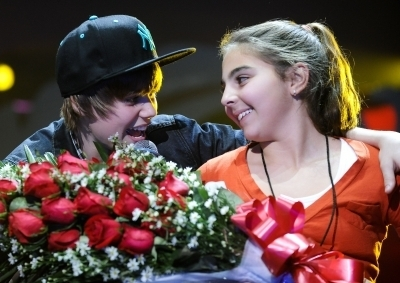 JB and a girl