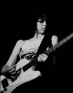 Jackie Fox Playing Bass