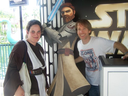 James Arnold Taylor and me