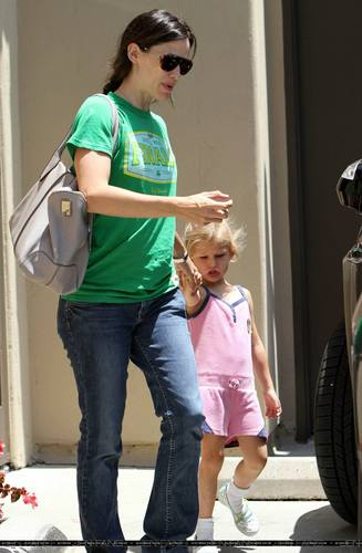Jen Picked Up Violet From School!