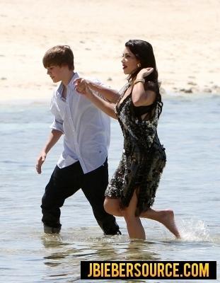 Justin and Kim Kardashian at Elle photoshoot in the Bahams ...