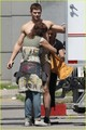 Kellan Lutz - Immortals (On Set) - twilight-series photo