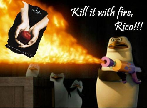 Kill it with fire, Rico!!! >;3