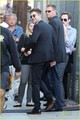 Kristen Stewart and Robert Pattinson heading into the studio to tape a segment for Jimmy Kimmel Live - twilight-series photo
