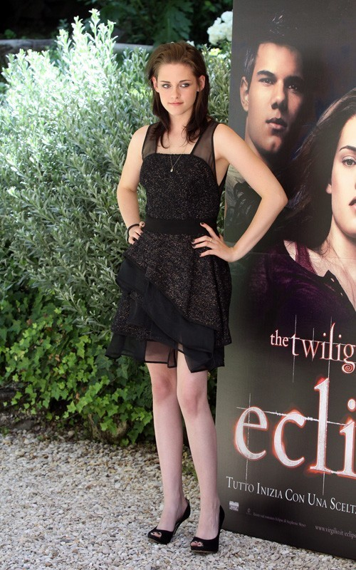 Kristen & Taylor @ Eclipse Photocall in Rome