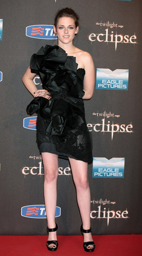 Kristen at Eclipse Premiere in Rome