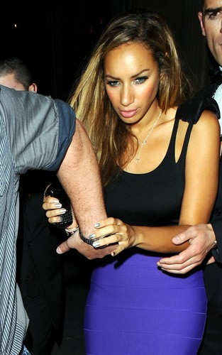 Leona Lewis out at Mahiki (June 14)