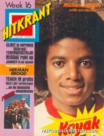 MJ on Magazine Covers
