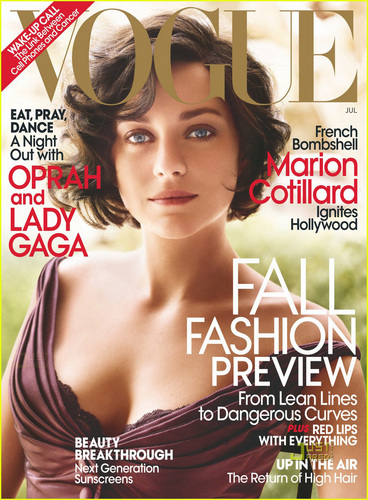 Marion Cotillard Covers VOGUE July 2010