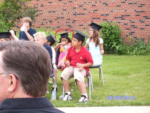 Me at my 5th grade graduation