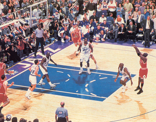 Michael Jordan's Last Shot As A stier