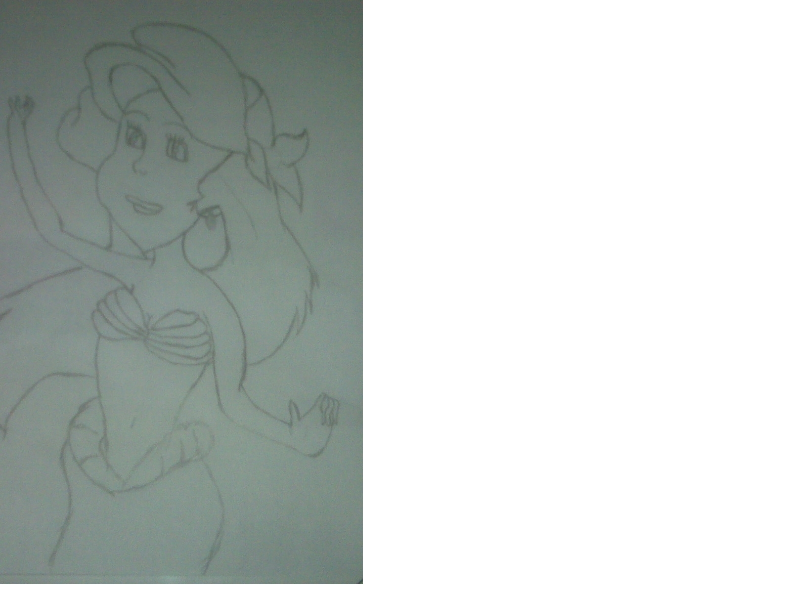 My Ariel Drawing