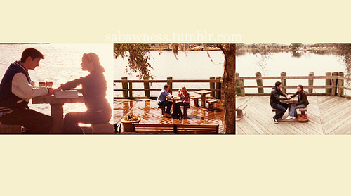 Naley table scenes