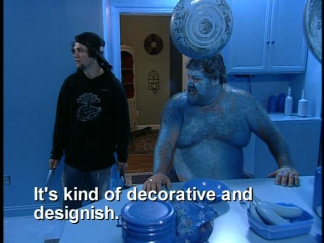 Bam Paints Kitchen Blue