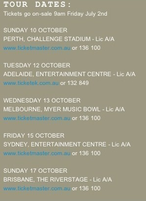 Paramore - Australian Tour Dates - 2010