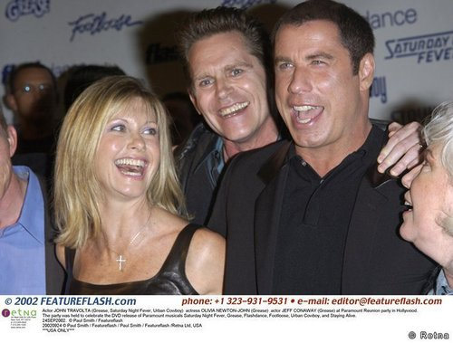 Paramount Reunion Party with John Travolta