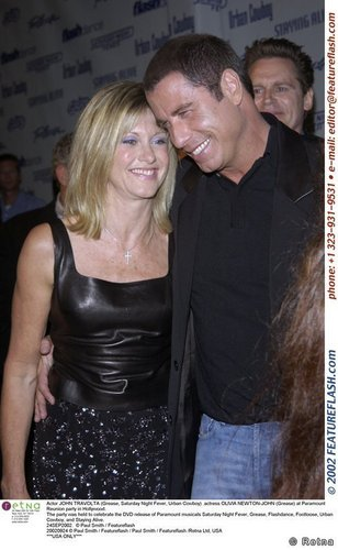 Grease Paramount Reunion Party with John Travolta
