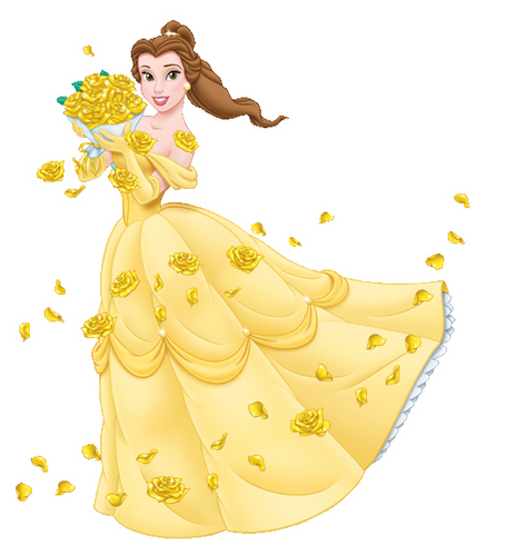 Classic Disney wallpaper entitled Princess Belle