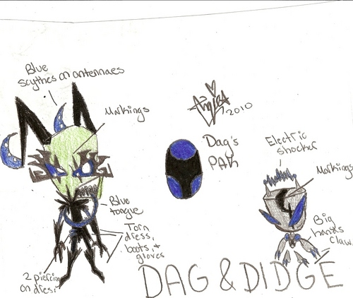 Invader Zim FanCharacters wallpaper called Dag and Didge