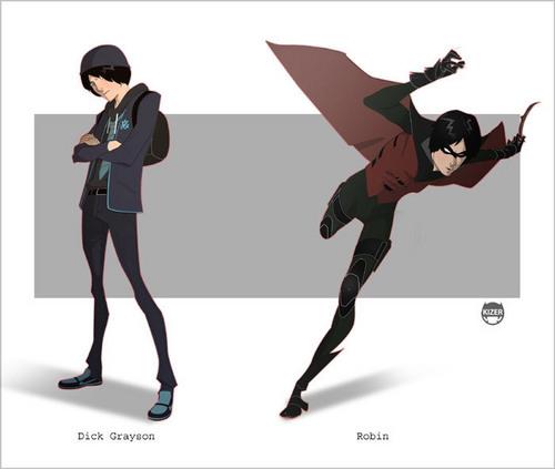Rick Grayson/Robin/Nightwing
