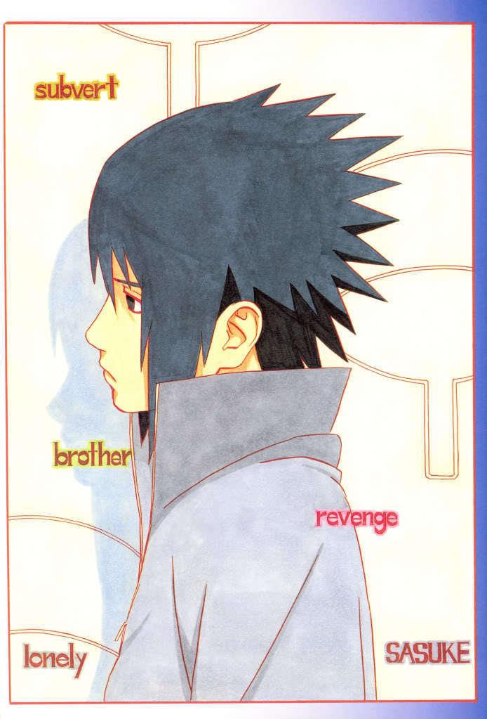 Sad Sasuke Uchiha