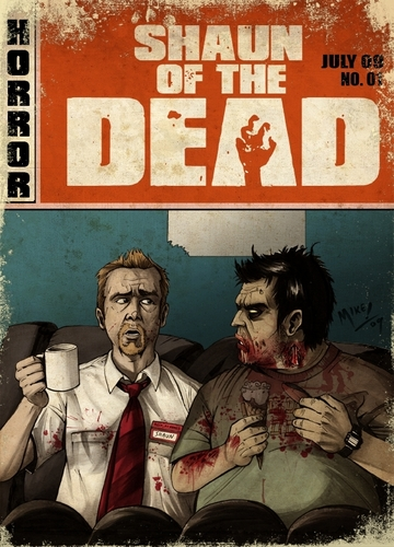 Shaun Of The Dead - shaun-of-the-dead Fan Art