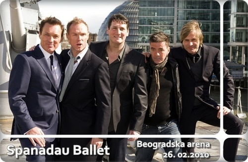Spandau Ballet Reformation Tour