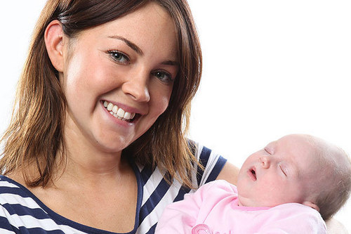 Stacey and Baby Girl