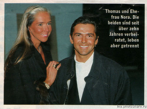 thomas anders wallpaper entitled Thomas & Nora