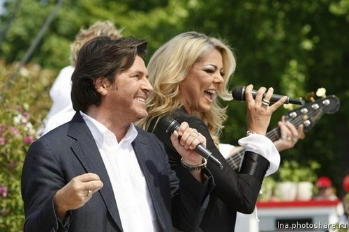 Thomas Anders Hintergrund titled Thomas & Sandra