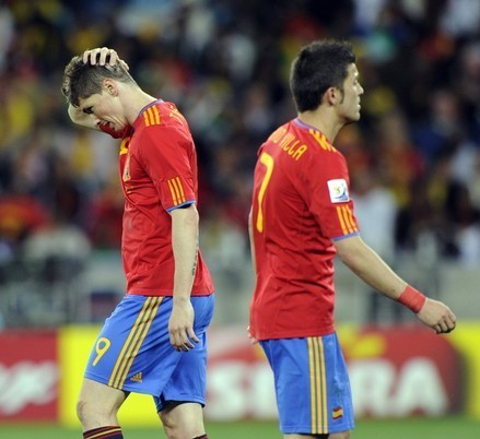 Torres - Spain (0) vs Switzerland (1)