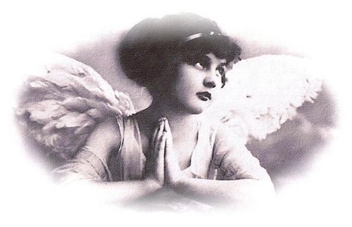 Vintage Angels - vintage Photo