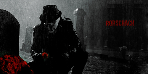 Rorschach - watchmen Fan Art