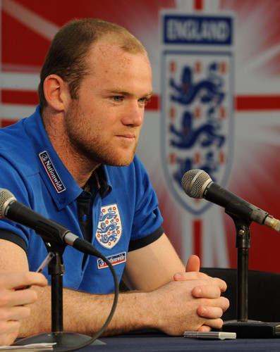 Wayne Rooney - Press Conference (June 16)