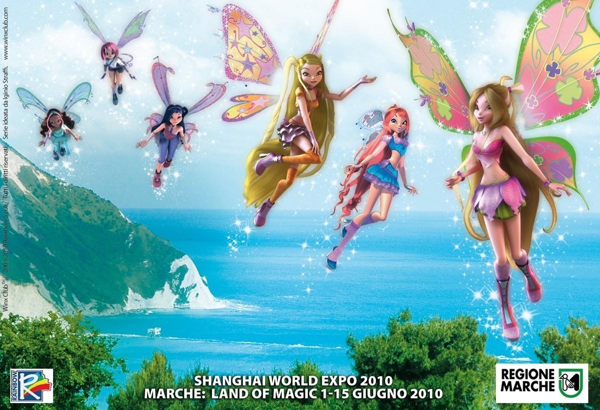 Winx 3D Shanghai World 2010