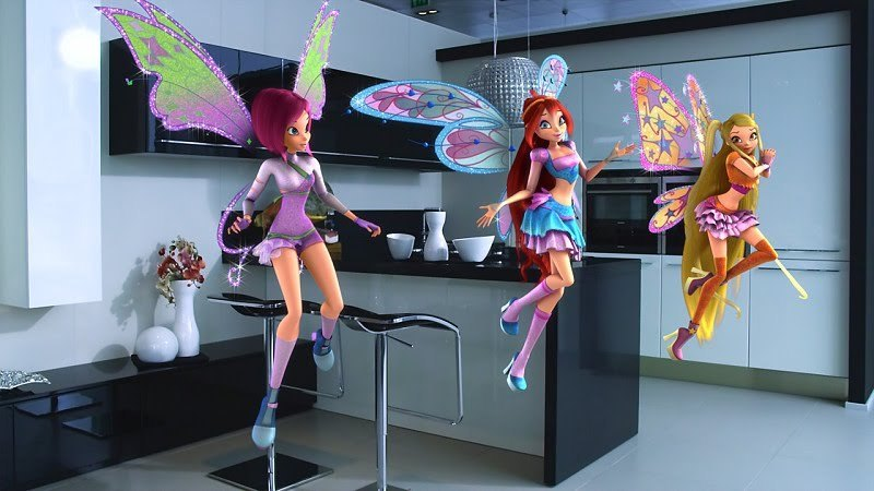Winx 3D Shanghai World 2010
