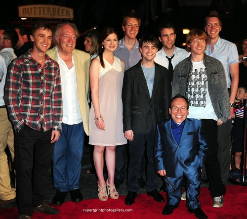 Wizarding World of Harry Potter Red carpet premiere HQ