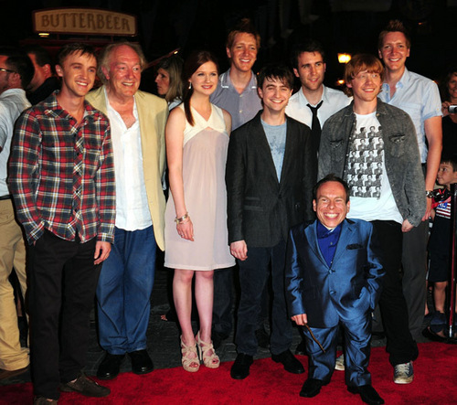 Wizarding World of Harry Potter Red carpet premiere