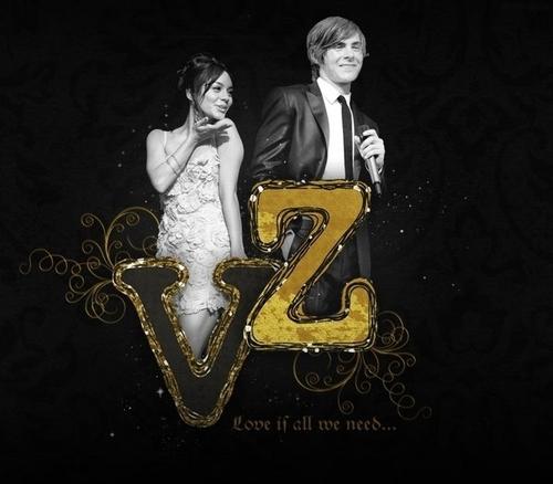 Zac Efron & Vanessa Hudgens karatasi la kupamba ukuta called Zanessa ;*