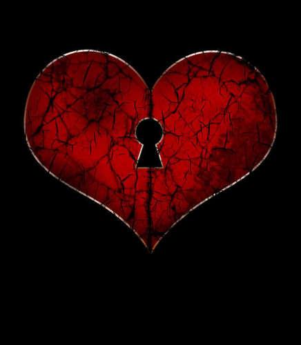 a broken tim, trái tim
