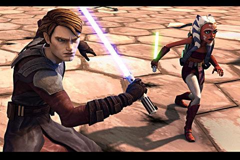 ster Wars: Clone Wars achtergrond called clone wars