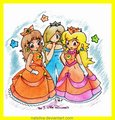 daisy and peach rosalina - princess-daisy photo