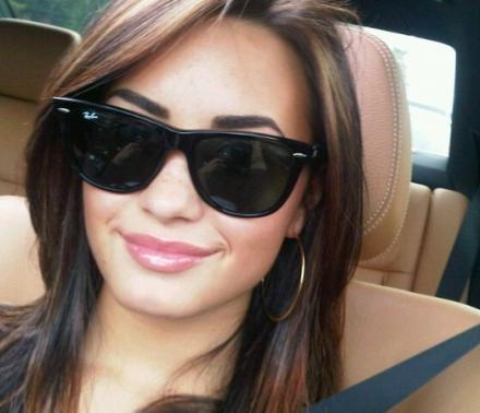 demi new look!