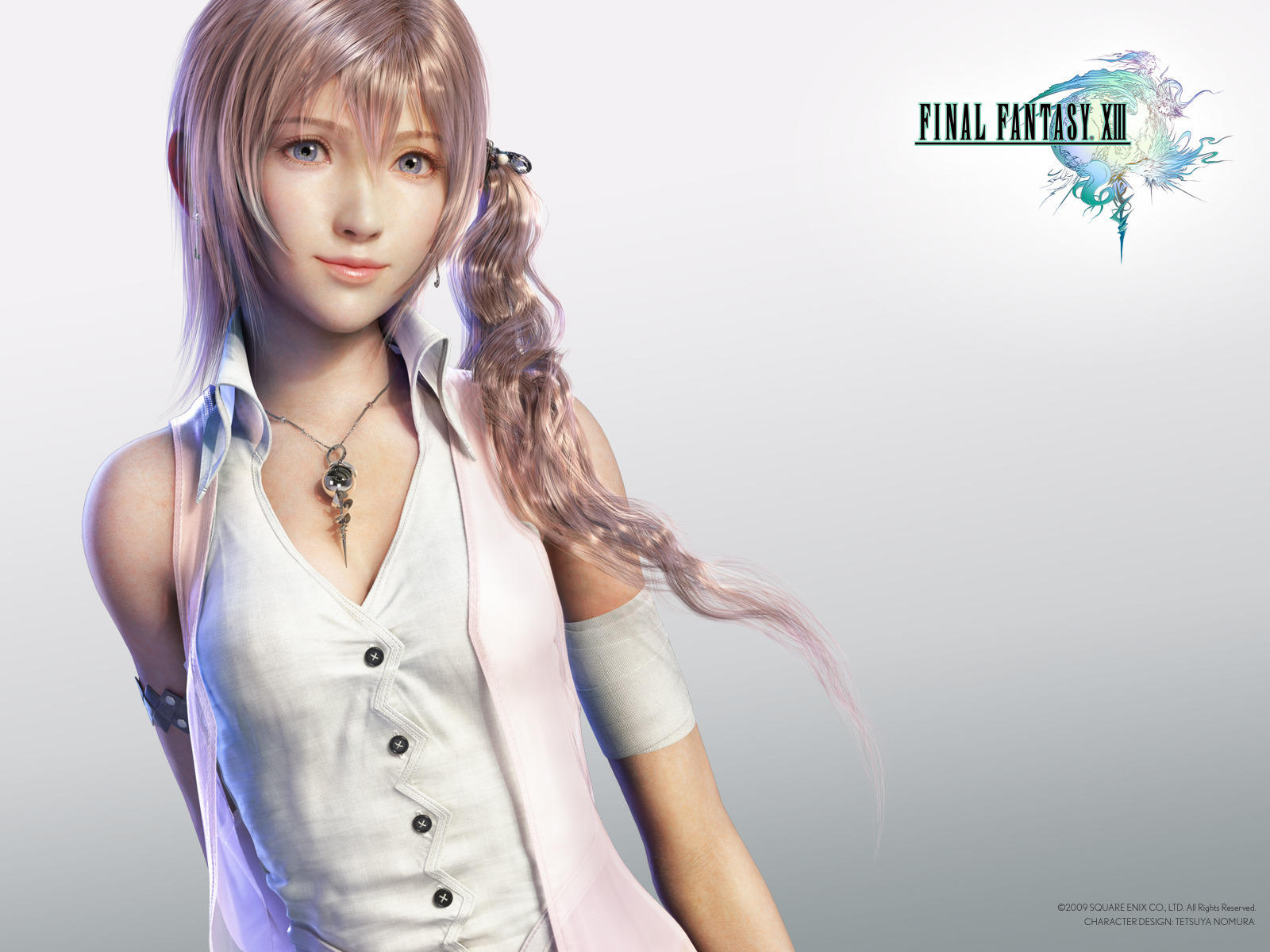 image Serah from final fantasy 3d animated